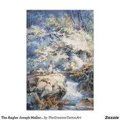 The Angler Joseph Mallord William Turner ART Poster