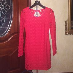 Long sleeve lace wild thing dress It's a long sleeve dress perfect for any occasion, it's in perfect condition and never worn, with tags still attached Free People Dresses Long Sleeve