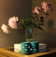 Ceramic tealight holders. Handmade by Appelig.