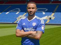 Jazz Richards joins in Summer 2016 Cardiff City Football, Cardiff City Fc, Welsh Football, Football Team, Fulham, Bluebirds, Fa Cup, Summer 2016, Premier League