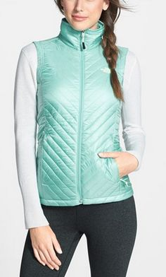 Winter Faves: Minty vest by North Face