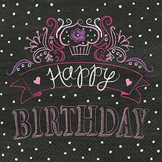 Birthday Sweets Party Napkins 16ct >>> You can get additional details at the image link.