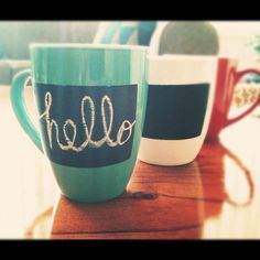 Hey, I found this really awesome Etsy listing at http://www.etsy.com/listing/118470883/chalkboard-mugs-choose-your-colour-red