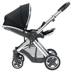 Buy BabyStyle Oyster 2 Mirror Chassis and Seat, Black Online at johnlewis.com £299