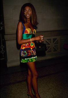 Naomi Campbell et Christy Turlington, mannequin 90