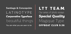 Fonts - Corporative by Latinotype - HypeForType Font Shop