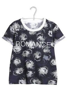 Tee-shirt sérigraphié  Noir by SANDRO