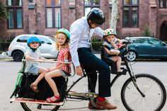 These biking parents are seriously inspiring... | 5 Awesome Family Bikes | A Cup of Jo