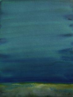 Koen Lybaert - Hoonah - watercolor on paper [40 x 30] / 2013 - [price 160 euro, shipment include]