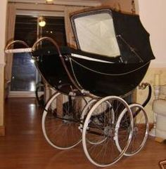 Marmet Lady 1950's - CoachBuilt Prams. This is the pram I have in the attic- maybe one day it will be used again?