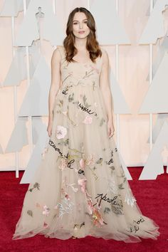Keira Knightley in Valentino Spring 2015 Couture - 2015 Academy Awards