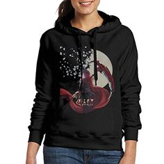 FHFHQ Women's The Original Anime Poster Hooded Sweatshirt Black Size XL *** Read more details by clicking on the image. Pink Watch, Anaheim Ducks, Fashion Seasons, Party Shirts, Ladies Party, Black Hoodie, Hooded Sweatshirts, Female, Tees