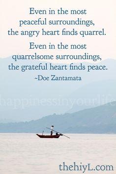 ...grateful hearts.