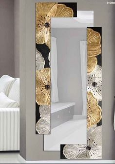 8 Eye-Opening Tricks: Wall Mirror With Shelf Bedrooms small wall mirror illusions.Wall Mirror Closet Girl Rooms oval wall mirror one kings. in living room ideas illusions Wondrous Metal Wall Mirror Ideas Bedroom Wall Art, Mirror Decor, Wall Decor Living Room, Cool Walls, Wall Gallery, Living Room Mirrors, Trendy Wall Art, Trendy Bedroom, Bedroom Wall