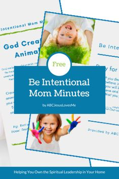 Did you see this month's exciting announcement on the Our Out-of-Sync Life blog?  I am thrilled to be able to walk alongside you as you take ownership in the spiritual guidance of your children.    Unsure what this means and how I desire to help?  Click the link  #MomMinute #ABCJesusLovesMe 