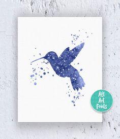25% OFF: Hummingbird Print Hummingbird Art by AllArtPrints on Etsy
