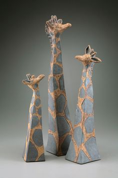Giraffes ceramic