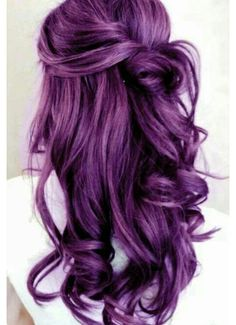 Fashion, hair, hair color, purple, purple hair