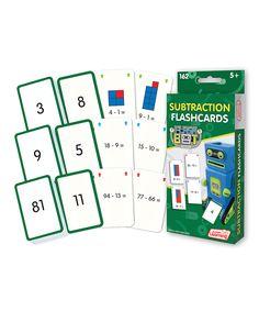 Subtraction Flash Cards Set