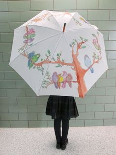I cant think of anyone that wouldn't enjoy a hand painted umbrella! My instructable displays easy and fun steps to create your own umbrella to keep or to give...