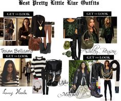 """Pretty Little Liars outfit"" by ttylzaynab ❤ liked on Polyvore"