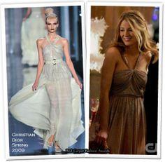 Serena van der Woodsen in Dior on Gossip Girl