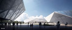 CGarchitect - Professional 3D Architectural Visualization User Community   Sports Complex in Sosnowiec, Poland