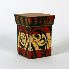 Lattimer Gallery - Rod Smith - Bentwood Box - Abstract