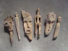 Driftwood Wall Art, Driftwood Sculpture, Driftwood Crafts, Sculptures Céramiques, Sculpture Art, Ribbon Sculpture, Art Pierre, Found Object Art, Wooden Art