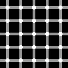 Can you chase the dots? | 10 Awesome Optical Illusions That Will Melt Your Brain