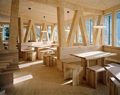 stil loving this...new monte rosa hut by 2009 Bearth & Deplazes Architekten AG