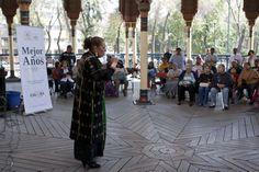 Tehua y Viola Trigo juntas en el Kiosco Morisco Mejor con los Años presentó a Tehua y Viola Trigo en el Kiosco Morisco, de Santa María La Ribera. Foto: Antonio Nava