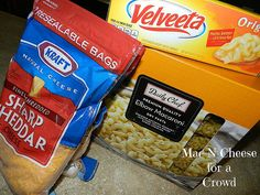CrockPot Mac N Cheese For a Crowd | Mommasmeals.org