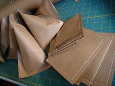 Could I do this with newspaper over the brown paper?