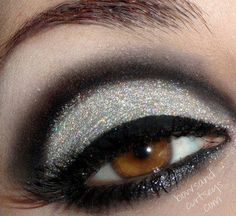 Smokey eye.  Perfection.