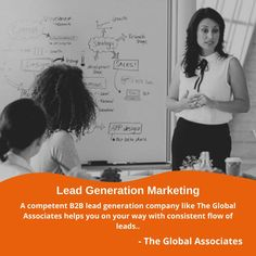 A competent B2B lead generation company like The Global Associates helps you on your way with consistent flow of leads.. #leadgenerationmarketing #leadgeneration #b2bleadgeneration