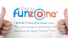 Fitness Fun Zone Court: Large Group Fitness Activities