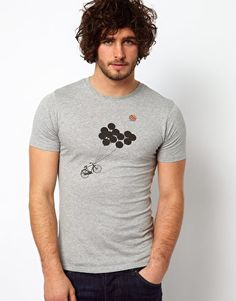 Enlarge Paul Smith Jeans T-Shirt with Balloon Print