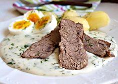 Teplé omáčky v české kuchyni. TOP výběr těch nejlepších! | ReceptyOnLine.cz - kuchařka, recepty a inspirace Modern Food, Ham, Steak, Food And Drink, Vegetarian, Beef, Recipes, Meat, Hams