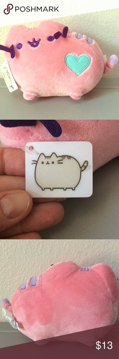 Official Gund Small Pink Pastel Pusheen Plushie One of three small pastel Pusheens.   Holographic tag still attached.   Check out the mint and purple pastel Pusheens in my closet! Gund Other