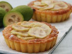 Recipe other : Feijoa frangipane tart by Peasepudding Fejoa Recipes, Guava Recipes, Raw Food Recipes, Baking Recipes, Dessert Recipes, Baking Ideas, Dessert Ideas, Recipies, Sweet Pie