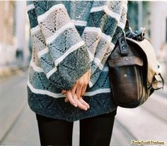 Mystery Hipster Outfit:Purse & Mystery Sweater