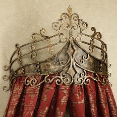 Alexandria Crown Wall Teester Bed Crown- once a king or queen of Narnia, always a king or queen of Narnia!