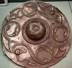 the Celts were amazing artists- this shield is from 2nd Century BC...Art Nouveau wasnt so new eh?;)