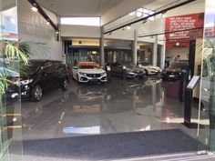 Honda Showroom, New Market, Auckland, NZ