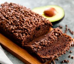 This chocolate avocado banana bread doesn't use oil or butter. Instead, avocado replaces the oil, creating a rich, moist chocolate banana bread.
