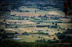 Arezzo, Tuscany, Italy - view from Agriturismo Buccia Nera