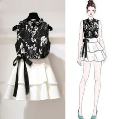 Trendy party look fashion style 38 Ideas Asian Fashion, Look Fashion, Trendy Fashion, Romantic Fashion, Fashion Ideas, Trendy Style, Womens Fashion, Fashion Trends, Fashion Drawing Dresses
