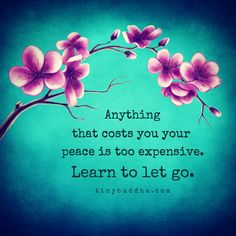 Anything That Costs You Your Peace Is Too Expensive - Tiny Buddha Wisdom Quotes, Words Quotes, Me Quotes, Vinyl Quotes, Peace Quotes, Yoga Quotes, Daily Quotes, Funny Quotes, Positive Thoughts