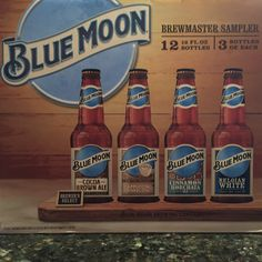 Blue Moon's new sampler pack - can't wait to try the 'Cocoa Brown Ale'!